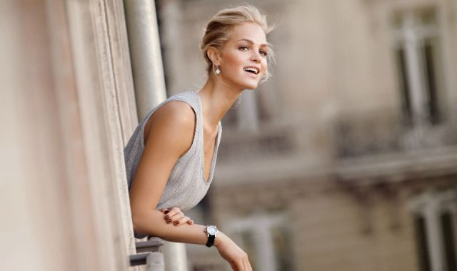 Erin Heatherton is new face of Chopard Happy Sport Medium Automatic watch DECOR 2