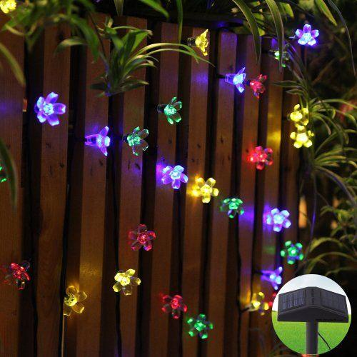 Delightful $35.98 Innoo Tech Led Solar Fairy String Lights Outdoor 80 Led Blossom For  Garden Party Indoor