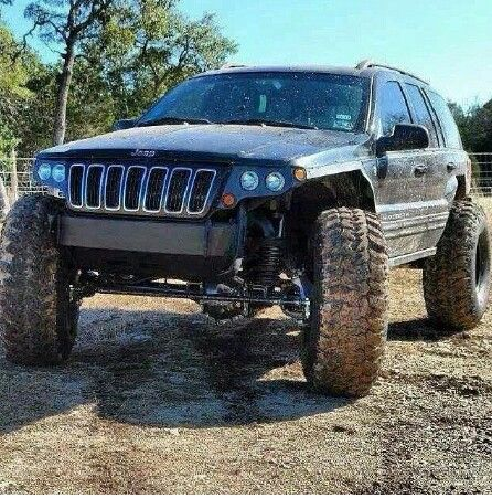 Rain Guards For Trucks >> WJ Jeep with lift and big tires | JEEP, its my personality | Jeep cars, Jeep suv, Jeep