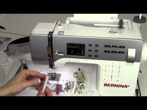 Video tutorials for starting to sew with your BERNINA B 350