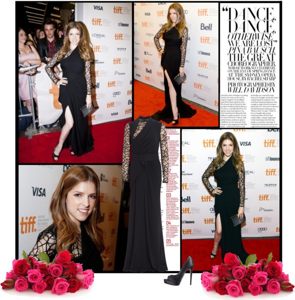 """""""Anna Kendrick attends the """"End Of Watch"""" premiere during the 2012 Toronto International Film Festival"""" by chiara3012 ❤ liked on Polyvore"""