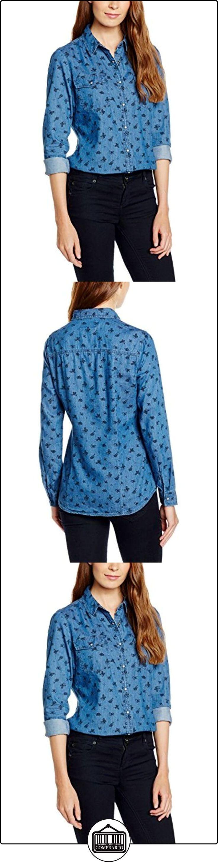 Cortefiel 2.T.BS.Bls Preppy Denim M/L, Camisa para Mujer, Blues, L  ✿ Blusas y camisas ✿