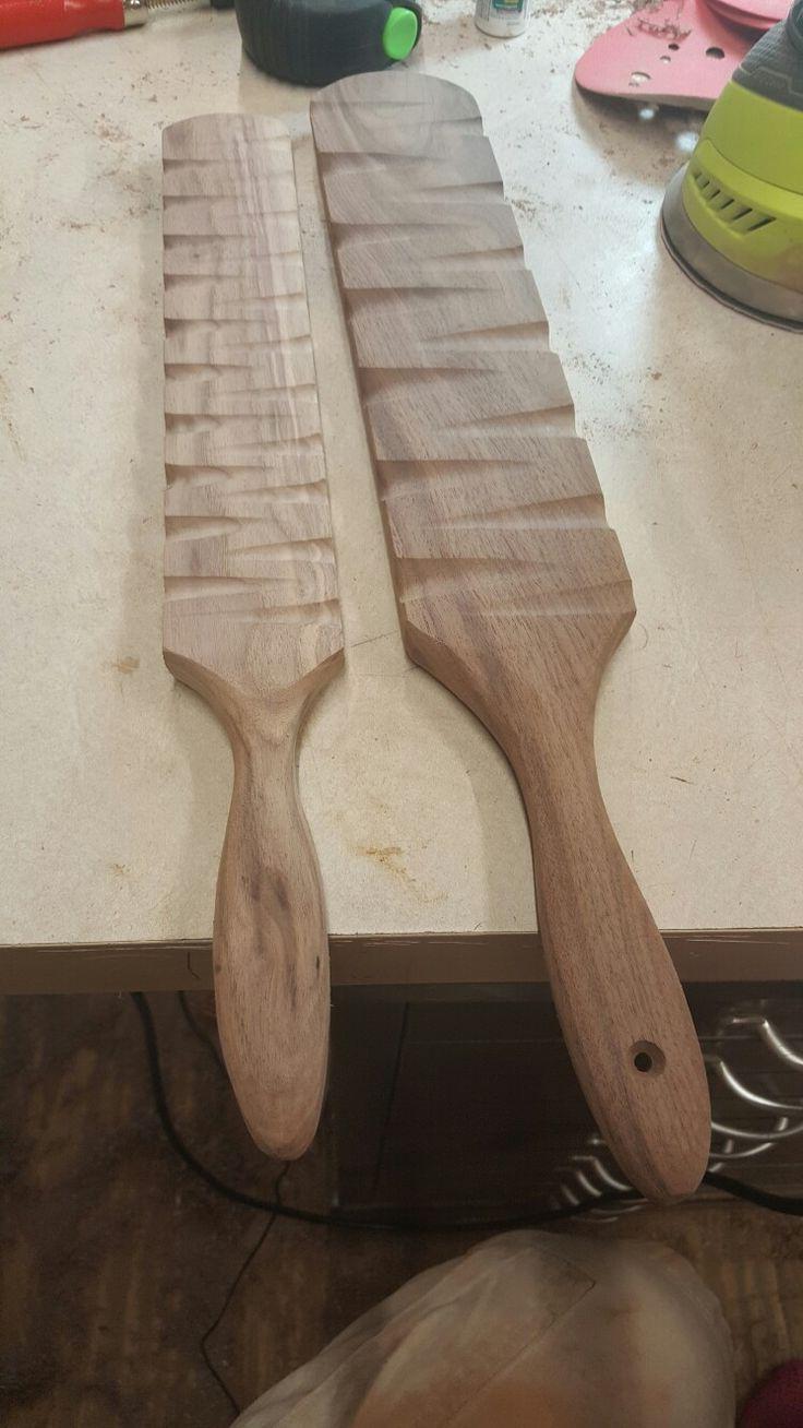 Vintage Wooden Spanking Paddle