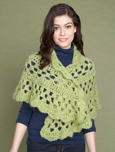 Ravelry: One-ball Half-moon Shawl #60831A pattern by Lion ...