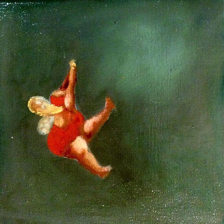 #cafemartinez #cristinatrovato #cristinatrovatoarte #gallery #oleo #painting - cristinatrovato_arte