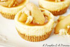 Caramel Apple Cheesecake recipe - Oh my.... yummy!