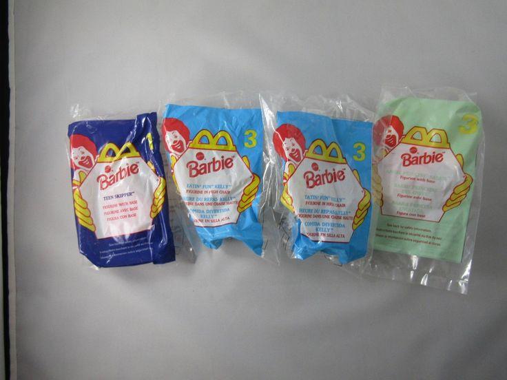 Barbie McDonalds Happy Meal Toys 1996 1998