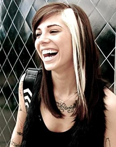 "Christina Perri. ""a secret is safe behind a pretty smile, but it is mine."""