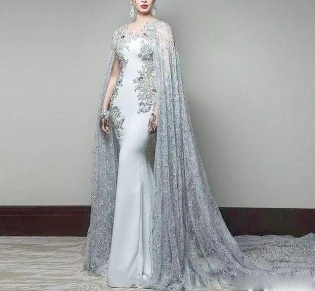 Mermaid gown prom