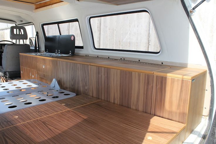 Kustom interiors camper interior gallery kustom for Vw camper van interior designs