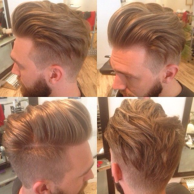mens bread & hair styles