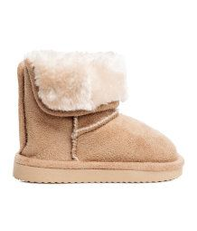Pile-lined Boots | Beige | KIDS | H&M US
