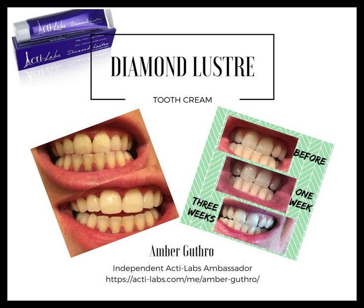Diamond Lustre toothpaste #teeth #beauty #actiamber