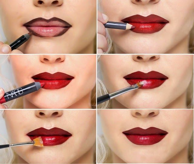I Tried Marilyn Monroe's Crazy-Contouring Lip Trick