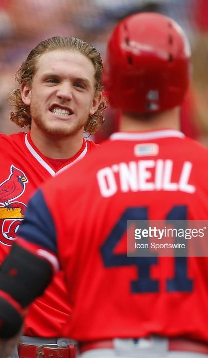 4f67981a9 Harrison Bader, Tyler O'Neill, STL // August 25, 2018 at COL ...