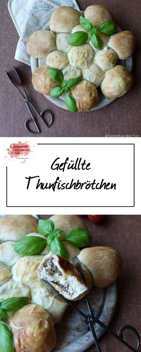 Gefüllte Thunfischbrötchen   Rezept   Fingerfood