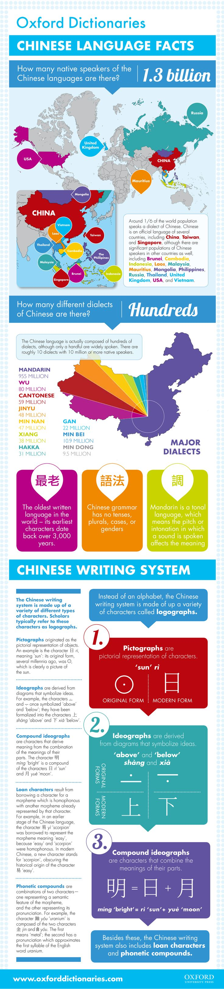 Chinese Language Infographic