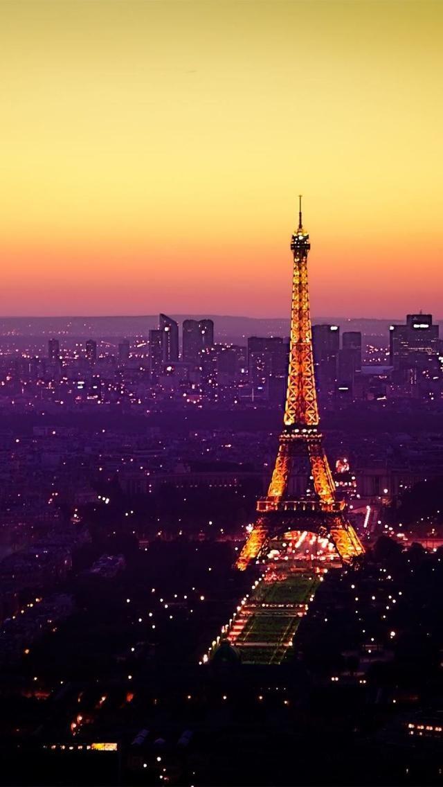Nightfall in Paris.....on my bucket list!