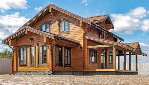 Фрейя - дом из ангарской сосны