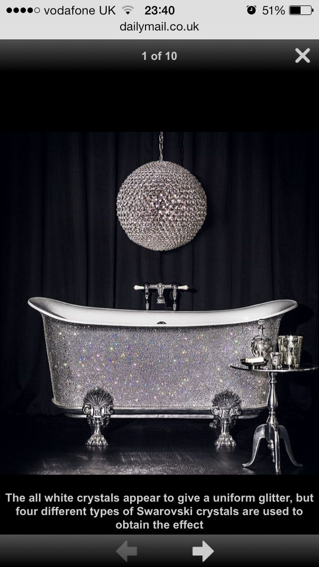 Blinged Out Tub