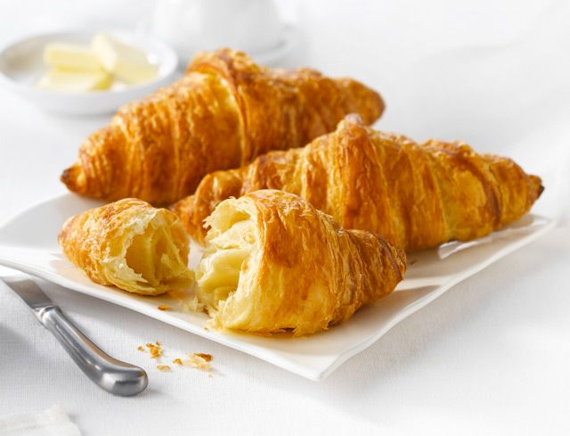 Bake Your Own™ Butter Croissant: This extraordinary croissant is tender and buttery, with a lightly crisp and flaky crust. Just the way a real croissant should be. Keep lots in the freezer and enjoy a warm, fresh treat any time you want.