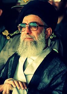 Ali Hosseini Khamenei (Persian: علی حسینی خامنه‌ای‎ pronounced [ʔæˈliː hoseiˈniː xɒːmeneˈʔiː] ( listen); born 17 July 1939) is the second and current Supreme Leader of Iran and a Shia Cleric. Ali Khamenei succeeded Ruhollah Khomeini, the leader of the Iranian Revolution, after Khomeini's death, being elected as the new Supreme Leader by the Assembly of Experts on 4 June 1989. ...