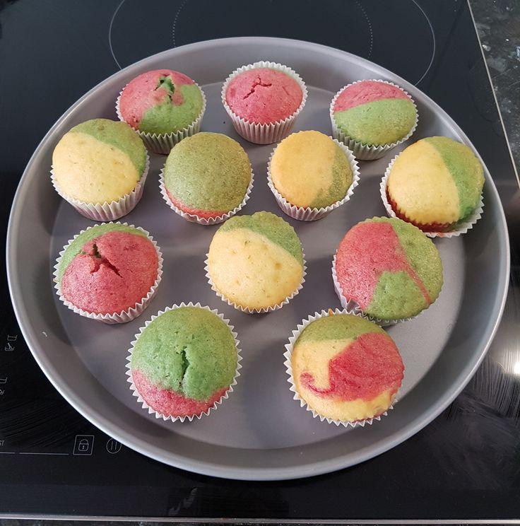 Papageien Muffins