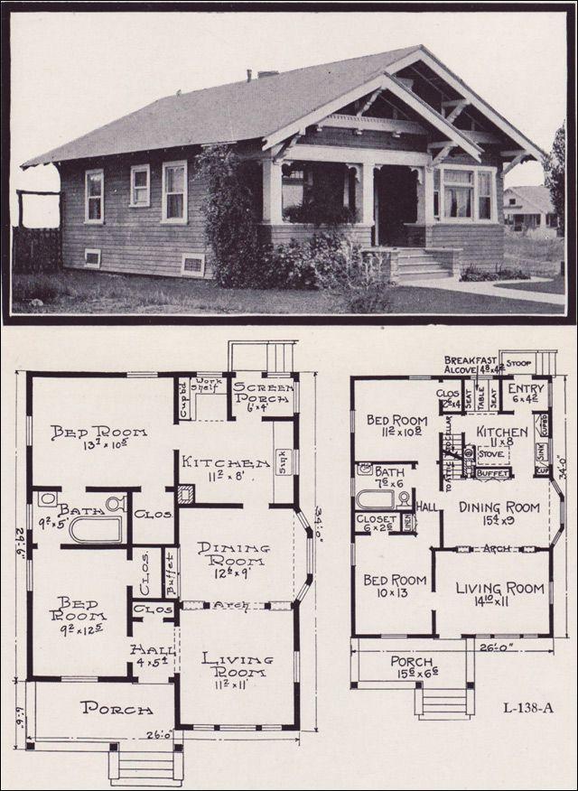 Best 25+ Bungalow floor plans ideas on Pinterest | Cottage ...