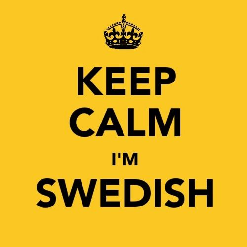 i picked this picture because I am Swedish and I thought this was really funny.