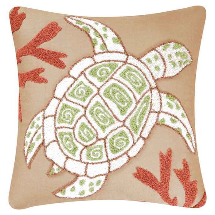 Sea Turtle Pillow I