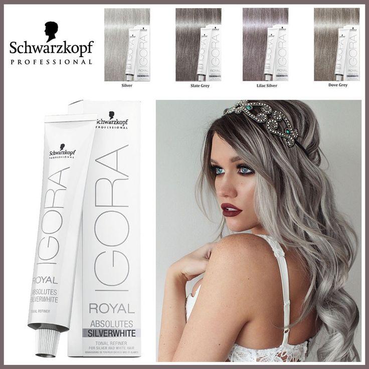 Igora Royal Absolutes. Dove Grey. Slate Grey. Grey Lilac. Popular Grey Permanent Hair Shades. PROFESSIONAL HAIRDRESSING & BEAUTY SUPPLIES . | eBay!
