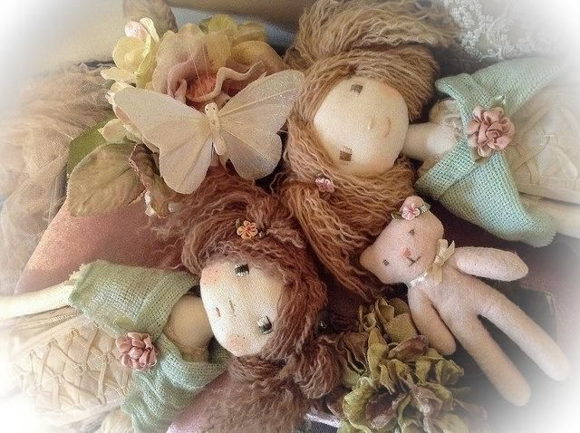 (9) Name: 'Sewing : Verity Hope English Cloth Doll