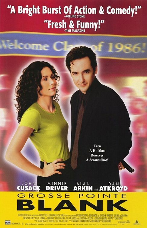 Grosse Pointe Blank (1997) | directed by George Armitage | starring John Cusack, Minnie Driver, Alan Arkin, Dan Akroyd and Joan Cusack