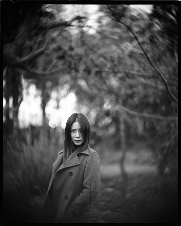 Shooting film 10 beautiful analog black white portraits shot with petzval lenses