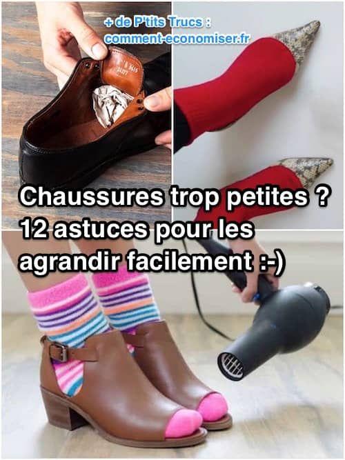 astuces pour agrandir des chaussures étroites ou petites