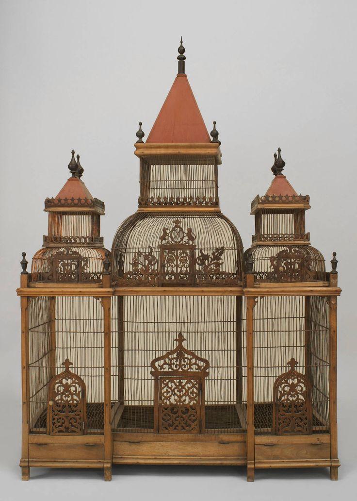 230 best Antique Bird Cages images on Pinterest ...