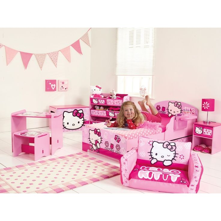 Hello Kitty Toddler Bedding Set
