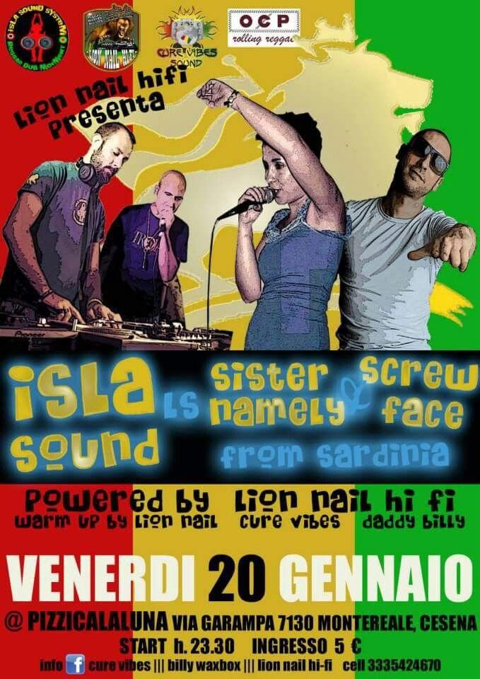 Isla Sound Sista Namely &Screwface a Cesena
