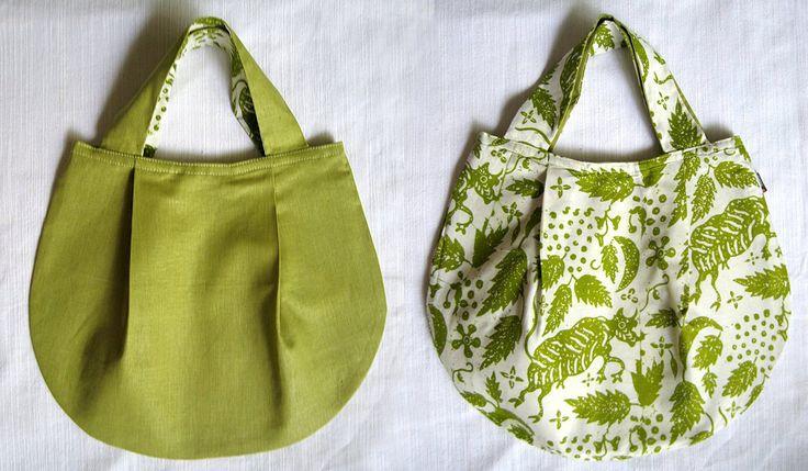 9-002 Light Green/Light Green Keraton Handbag by sheilad on Etsy