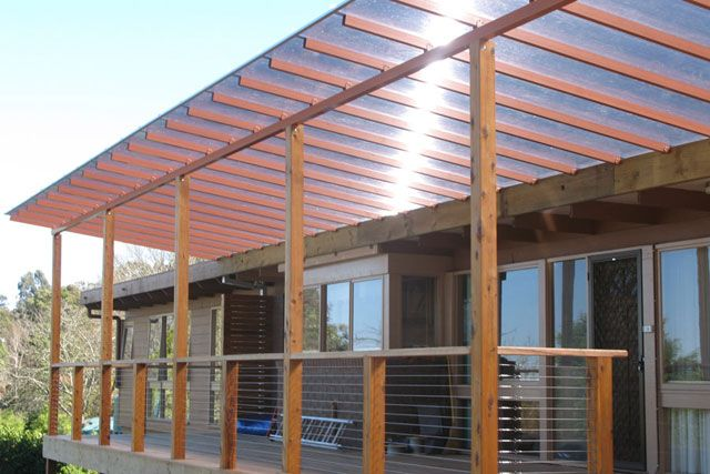 Modern Verandah Covers In Balwyn Modern Patio Veranda Shade Structure