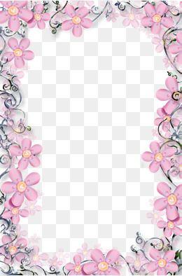 Modelo De Quadro De Fotos De Flores Write This Down