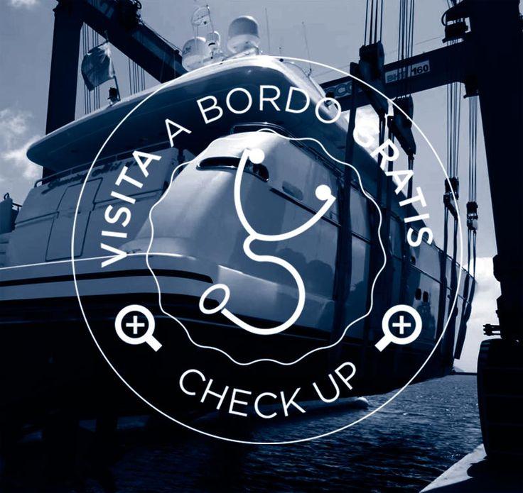 #shipyard #superyacht Portomirabello Italy check-up yacht