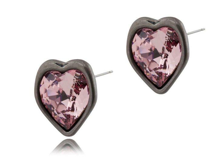 Kolczyki By Dziubeka z kolekcji POINT. #ByDziubeka #jewelry #heart