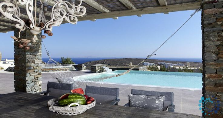 "Welcome to the ""Villa Diles"" in Tinos, Greece. Your #luxury #villa #rent #greece #greek #island #vacances #grece #mygreekvilla #alouer"