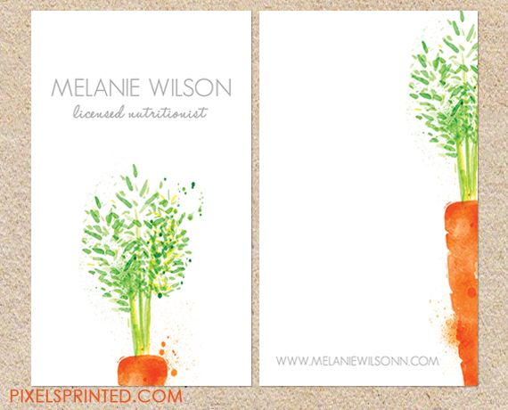 nutritionist business cards, food coach business cards, vegan chef business card, catering business card, healthy eatery business card