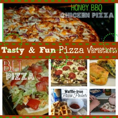 SusieQTpies Cafe: Huge Pizza Recipe Collection and Monday Menu Plan with Linky Party