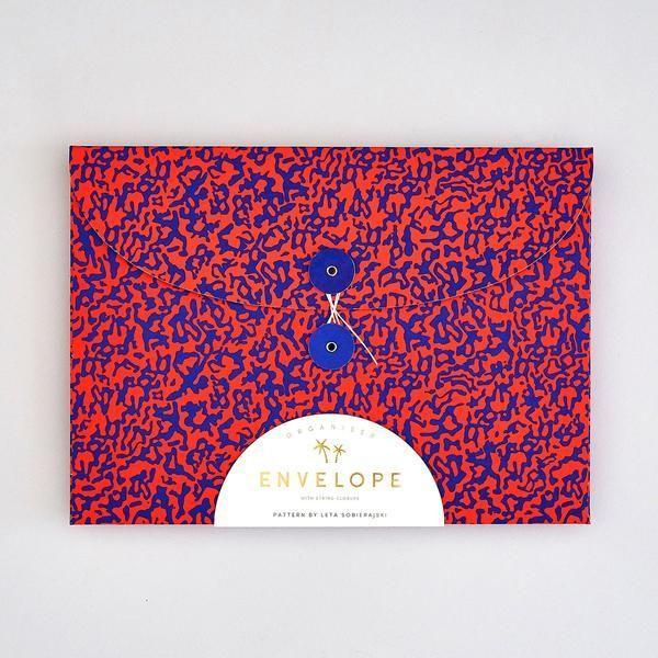 Folder Envelope : Blue & Red - Baltic Club www.thebalticclub.com