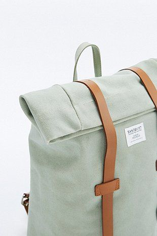 Sandqvist Sonja Sage Green Backpack