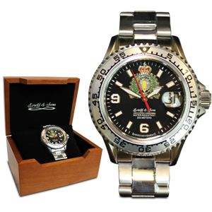 $214.99 Stay on time with the beautifully crafted RCMP All-Stainless Steel Watch