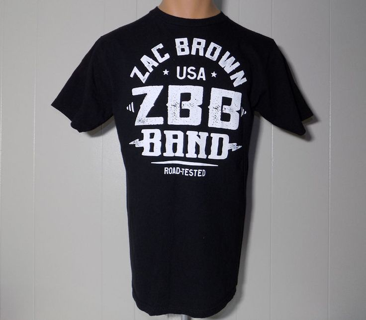 Zac Brown Band Road Tested Great American Road Trip ZBB concert 2014 tour shirt